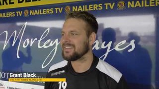 Grant Black - Post-match Interview - Belper Town 2-1 Rushall Olympic