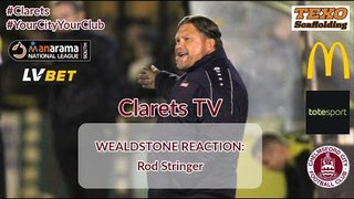 REACTION: Rod Stringer - Post Wealdstone (H) - 12/10/2019