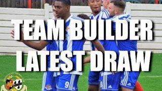 Team Builder Draw for November 2018