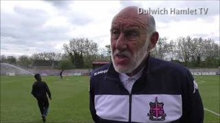 Dulwich Hamlet Goalkeeping Coach John Macrae speaks about his year at the club