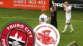 Extended Video Highlights of Truro City v Hemel Hempstead 13/10/18