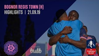 Dulwich Hamlet v Bognor Regis Town, FA Cup 2nd QR, 21/09/19 | Match Highlights