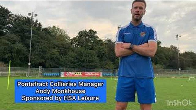 Interview | Monkhouse discusses Hebburn Town, FCUM Cup Tie and Runcorn Linnets