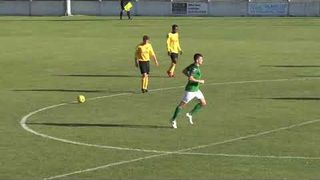 Highlights Soham Town Rangers v Mildenhall Town 29-9-2018 Bostik North League