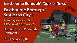 'Sports News': Eastbourne Borough 1 v 1 St Albans City – Vanarama National League South Highlights