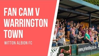 FAN CAM | WARRINGTON TOWN vs WITTON ALBION (22.4.19)