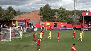 Banbury United 1 Coalville Town 1 - 28 Sep 2018 - Highlights