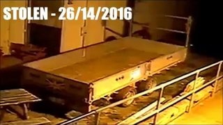 Trailer Theft - Deepings Rugby Club