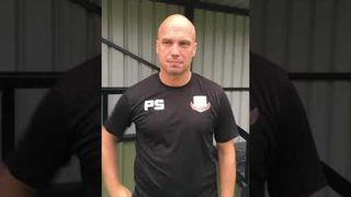 Knaresborough Town v North Shields post match interview