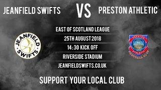 Jeanfield Swifts Vs. Preston Athletic 6-1 | East of Scotland League Highlights