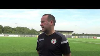Interview with Jim Cooper -  Grays FA cup win over Heybridge swifts