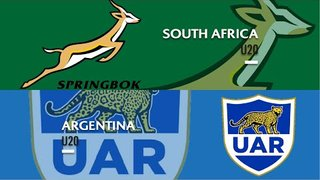 U20s highlights: South Africa beat Argentina to take bronze