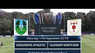 Kidsgrove Athletic v Glossop North End 14/09/19