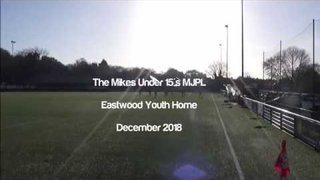 Boldmere St Michaels U15's MJPL v's Eastwood Youth