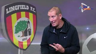 """Interview with Lingfield FC David """"Dixie"""" Dean - 21-10-2017"""