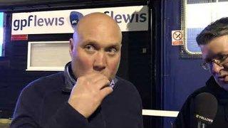 POST MATCH INTERVIEW - Wealdstone 0-2 Oxford City