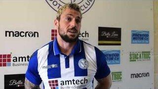 Thatcham Town FC vs Sholing FC | Kyle Tooze Interview