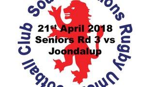 2018 Round 3 vs Joondalup