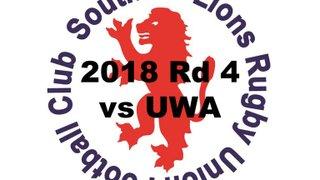 2018 Round 4 vs UWA