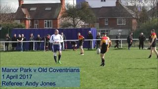 FULL MATCH: Manor Park v Old Coventrians 01-04-2017