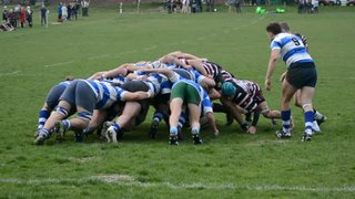 Beccs 1st XV v Hastings & Bexhill - London SE3 - 16/02/19 - Jordan Souter Try