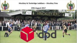 Hinckley Vs Tonbridge Juddians - Tries