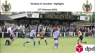 Hinckley Vs Tynedale - Highlights