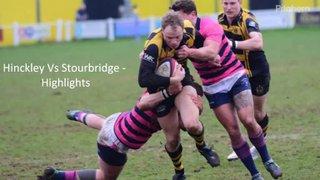 Hinckley Vs Stourbridge - Highlights