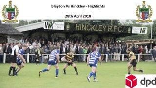 Blaydon Vs Hinckley - Highlights