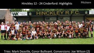 Hinckley 12 - 24 Cinderford - Highlights
