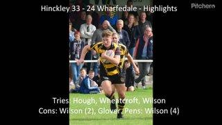 Hinckley 33  - 24 Wharfedale - Highlights