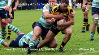 Hinckley 42 - 17 South Leicester - Highlights