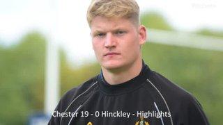 Chester 19 - 0 Hinckley - Highlights