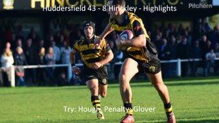 Huddersfield 43 - 8 Hinckley - Highlights