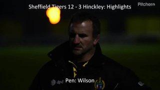 Sheffield Tigers 12 - 3 Hinckley