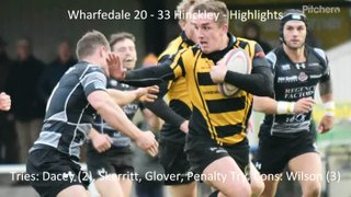 Wharfedale 20 - 33 Hinckley  - Highlights