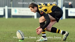 Hinckley 14 - 25 Otley - Highlights