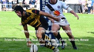 Hinckley 61 - 28 Burton - Highlights