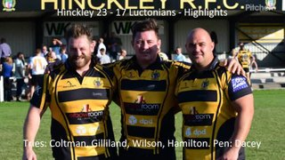 Hinckley 23 - 17 Luctonians - Highlights