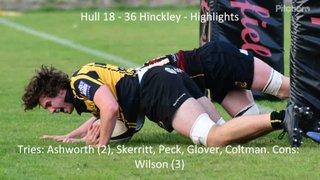 Hull 18 - 36 Hinckley - Highlights