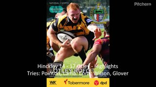 Hinckley 14 - 17 Otley - Highlights