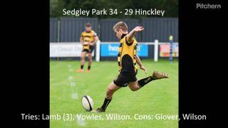 Sedgley Park 34 - 29 Hinckley - Highlights