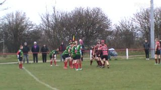 Neil Young's1st try v South Shields 19th Jan. 2019