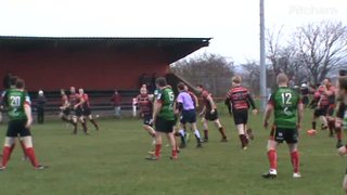 Neil Young's 2nd try v South Shields 19th Jan. 2019