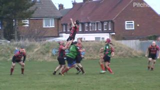 Craig Newlands hat trick  try v South Shields 19th Jan. 2019