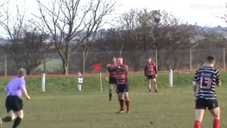 Jake Duddles try v Darlington 16th feb. 2019