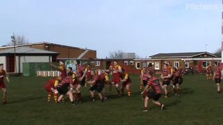 Brad Stovell's try v Rockcliff Sat. 23rd March 2019