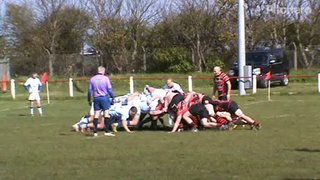 Craig Newlands 1st try v Ryton Sat. 13th April 2019