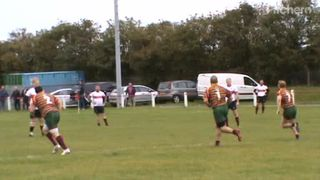 Craig Newlands 1st try v Aycliffe Sat. 5th Oct. 2019