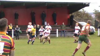 Craig Newlans hat-trick try v Aycliffe Sat.5th Oct 2019